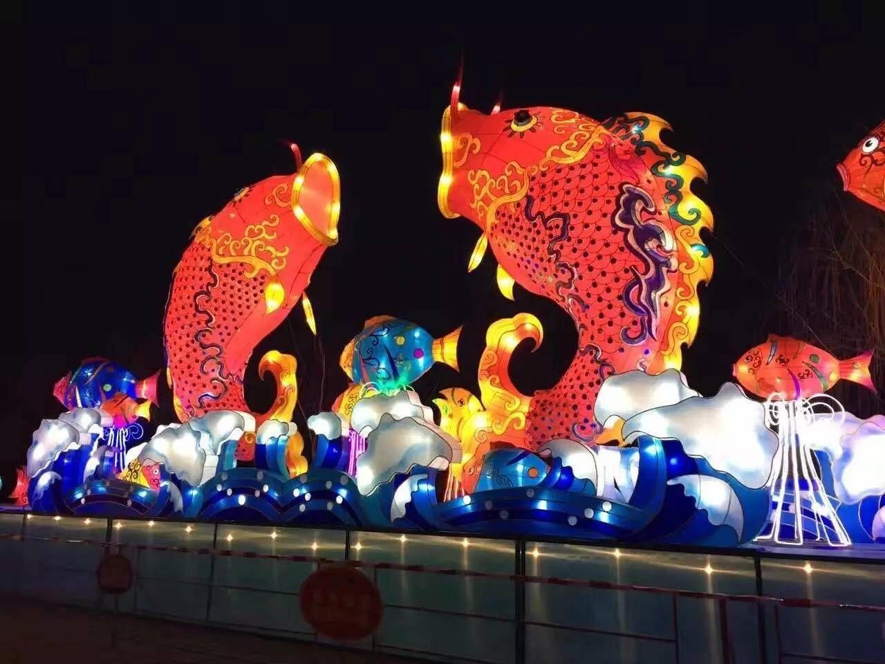 淄博玉黛湖花灯节筹备进入倒计时
