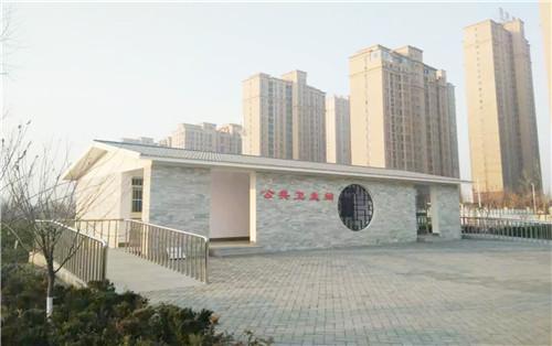 淄博张店2018年将新改建35座公厕