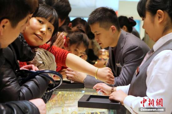 世界黄金协会:中国金饰需求前景非常乐观