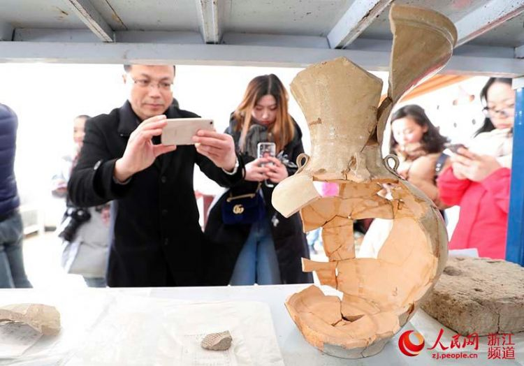 宁波考古发现:鄞县故城在今奉化白杜村城山南侧(组图)