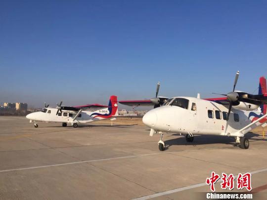"""""""中国造""""运12E飞机交付尼泊尔"""