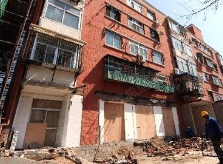 张店4个老旧小区综合整治改造开启