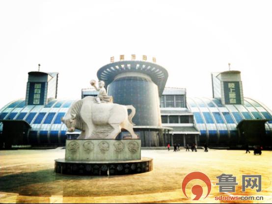 """【网络媒体走转改】兰陵博物馆:给历史文化一个现实中的""""家"""""""