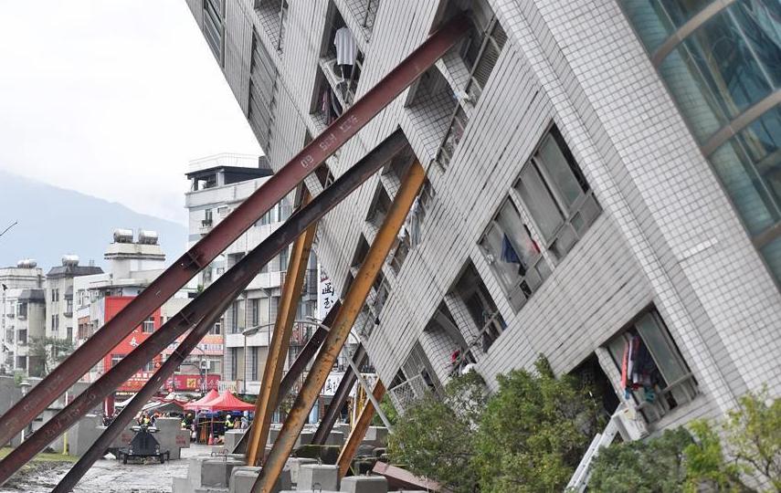 台湾花莲地震已有4名大陆游客遇难 另有5名被困