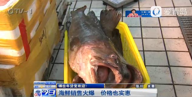 忙年倒计时:海鲜销售火爆 价格也实惠(图)