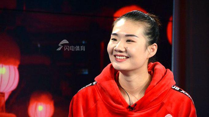 杨方旭春节做客《闪电体育》 秀剪纸试水解说鲁能比赛