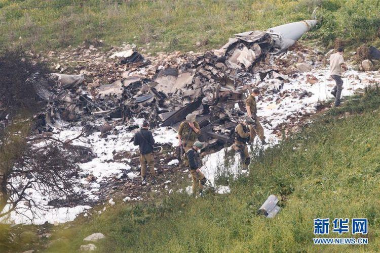 以色列战机遭叙利亚防空火力击落