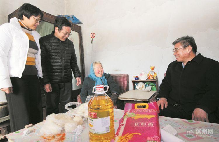 滨州市委党史研究室领导班子到无棣开展新春走访慰问活动