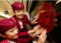 这趟温馨列车年味十足 回淄博旅客倍感温馨