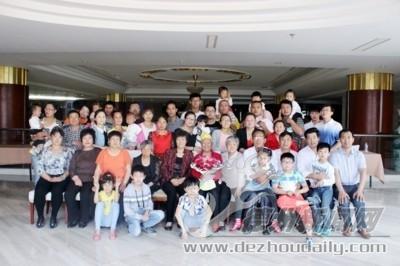 四代49口人不分家 宁津县冯玉敏家庭和睦融洽