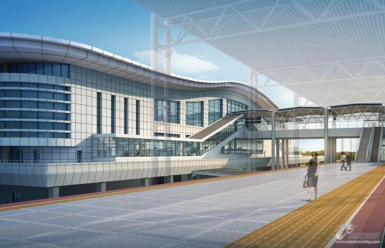 德州东站东站房和动车存车场开建项目计划一年半完工