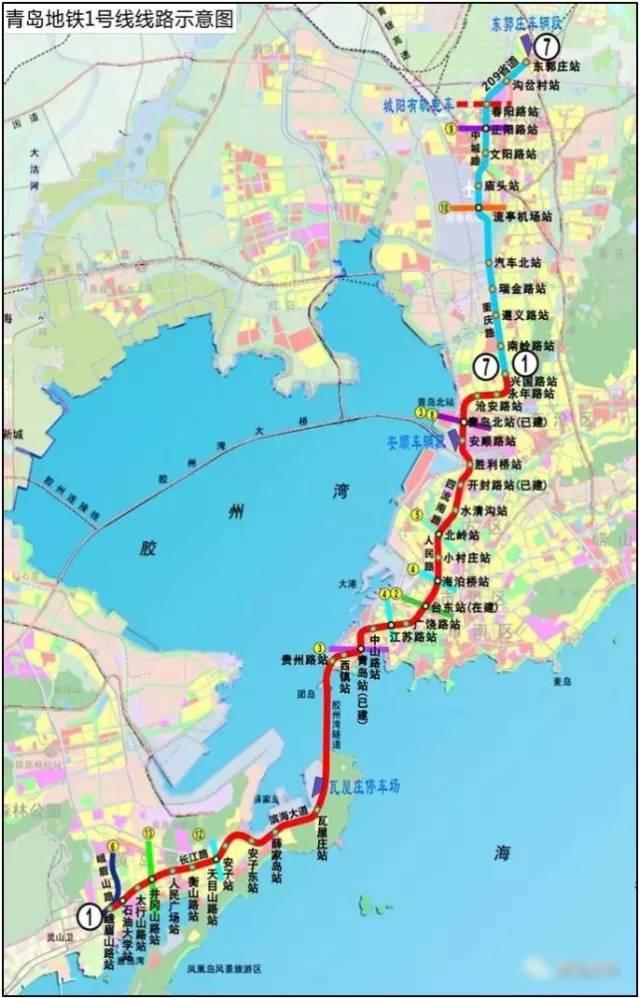 2018年青岛要干这些大事 地铁建设加快
