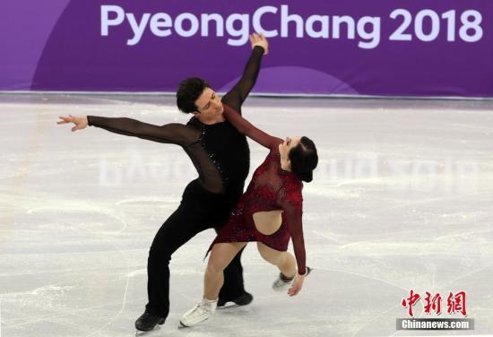 花样滑冰团体赛 加拿大黄金阵容强势夺冠