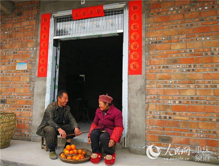 """垫江:900多户农村危改户""""搬""""进新家过新年"""