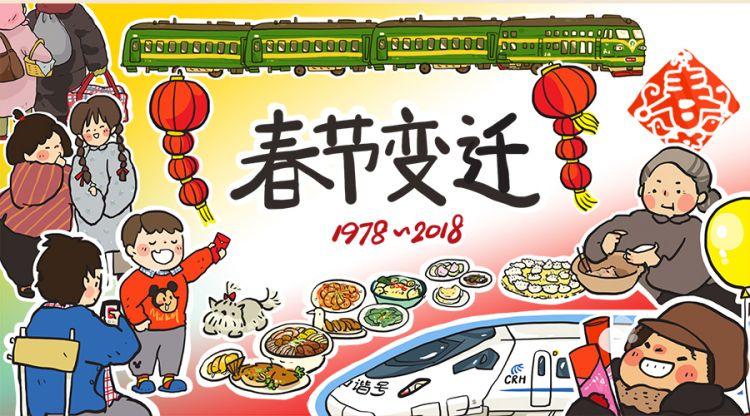 看哭了!90后插画师画出了十几亿中国人的春节回忆