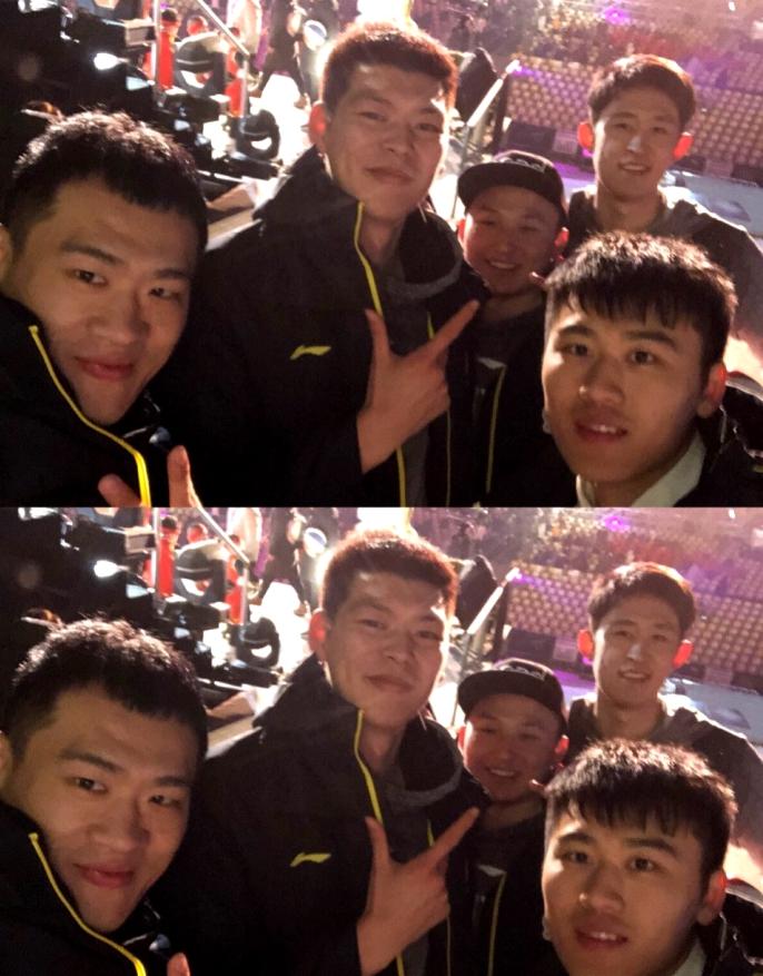 山东男篮队员春晚节目未登场 中锋许下新年愿望