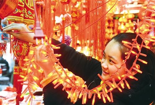文娱多亮点旅游好去处 春节消费红红火火