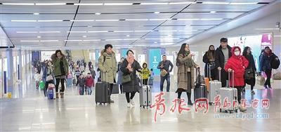 铁公机7天送客84万人次 青岛九成线路恢复运行