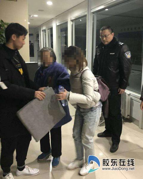 下车后找不到家了 烟台一八旬老人幸遇民警救助