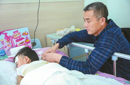 临沂女童跌进热豆浆盆全身烫伤 好心人援助捐款已超10万元
