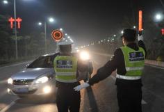 春节假期 淄博查纠各类交通违法行为4858起