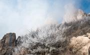 崂山凇奇观云雾缭绕