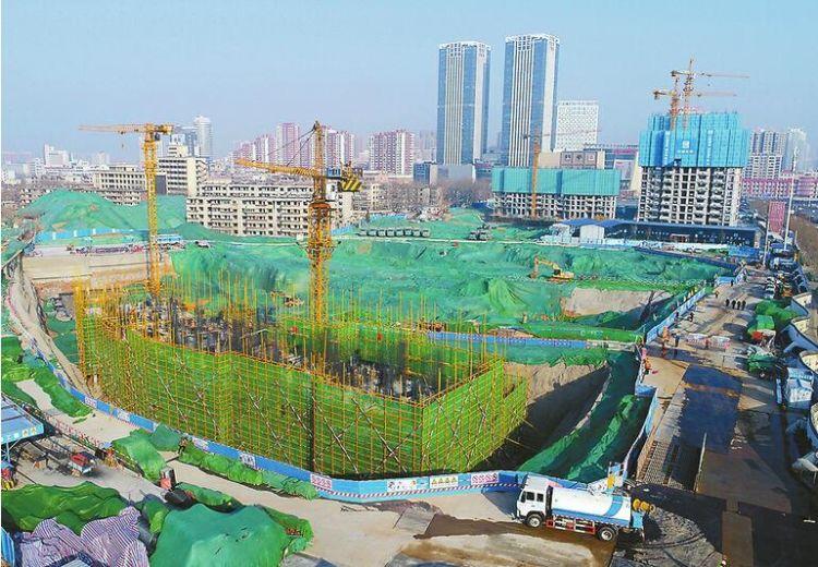 济南经十一路棚改项目:17栋安置楼全面开工建设