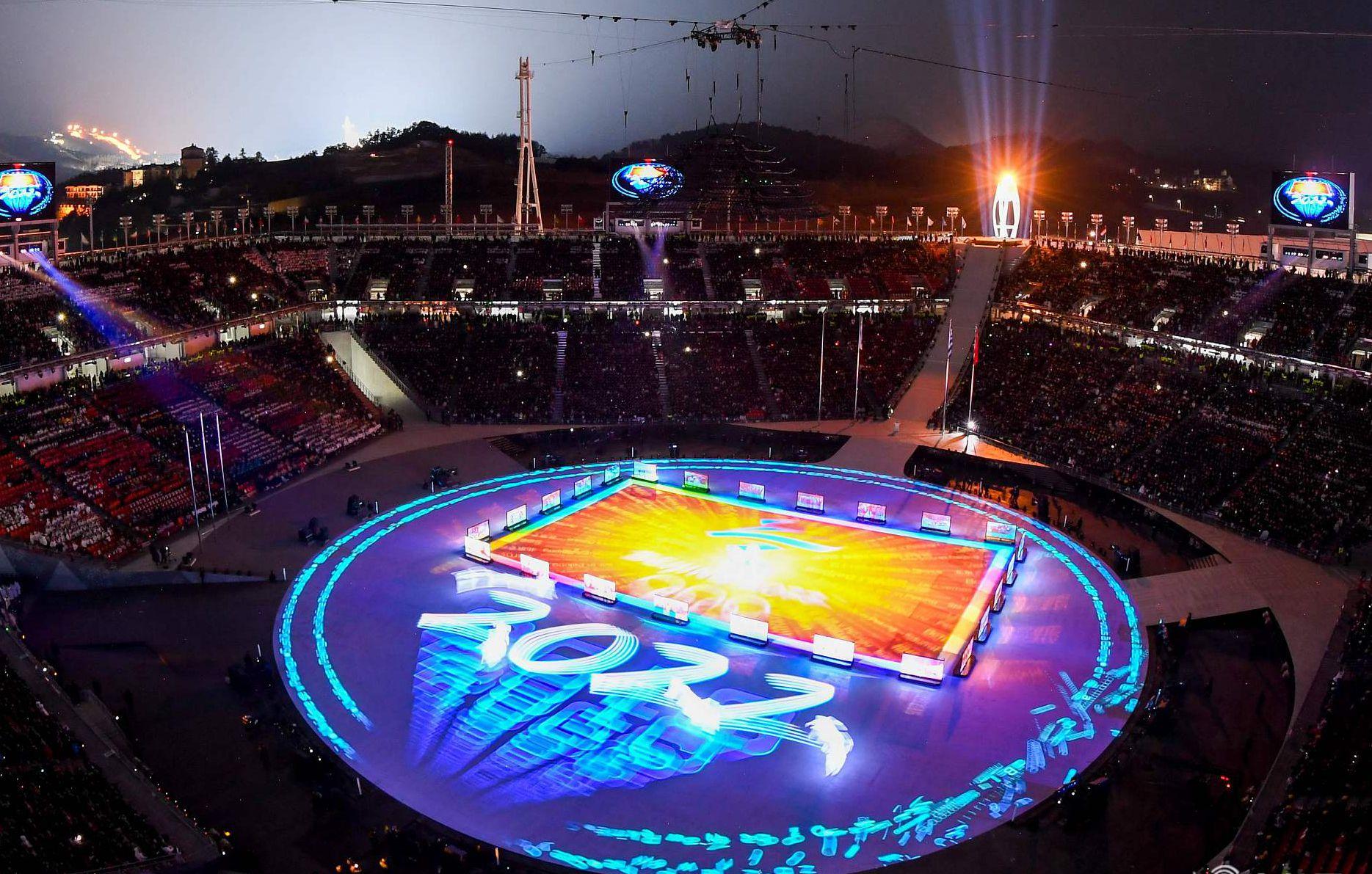 """百年奥运首迎""""AI时刻"""" 北京8分钟震撼全球"""