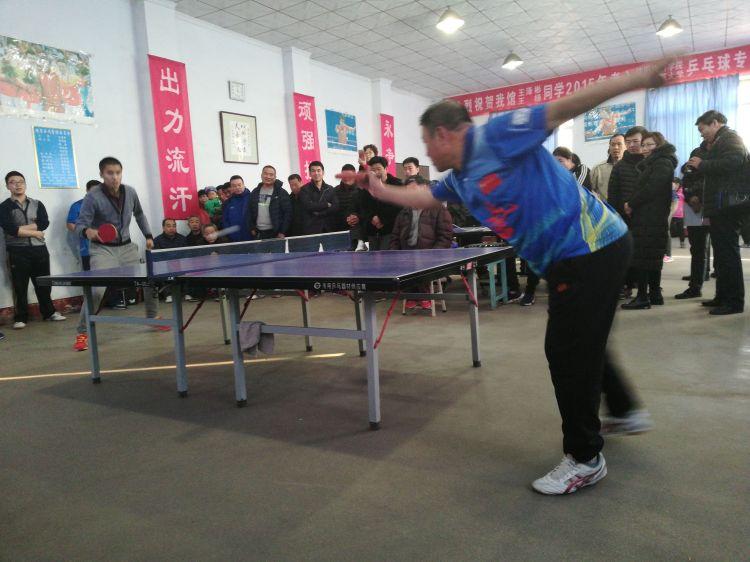 博山一农民9年办了八届高水平乒乓球赛