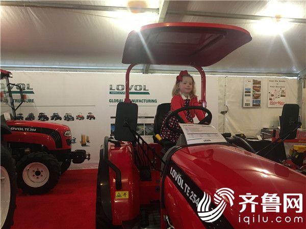 海外2月份外传-雷沃重工携新产品亮相美国全国农机展1