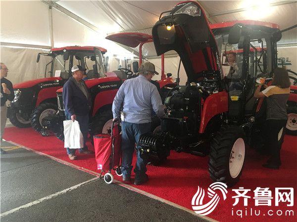 海外2月份外传-雷沃重工携新产品亮相美国全国农机展7