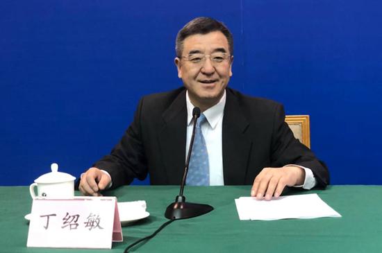 山东省人民政府千赢国际娱乐办公室事业处处长  丁绍敏