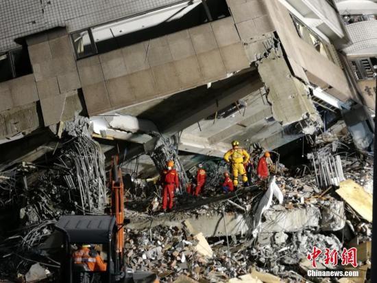 花莲地震坍塌大楼建筑商涉偷工减料 被羁押禁见