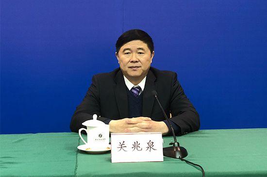 山东省发展改革委副巡视员、新闻发言人 关兆泉