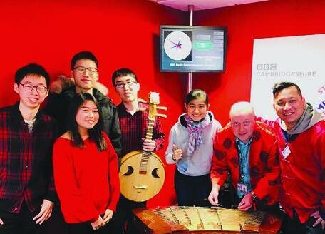 临沂女孩在BBC演奏扬琴 宣扬中国文化