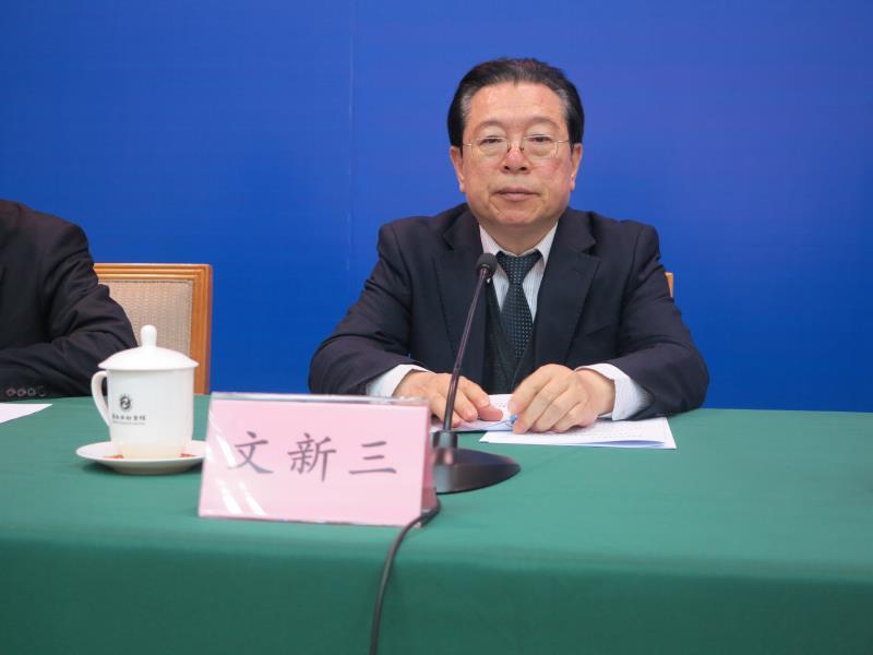 山东省财政厅一级巡视员 文新三