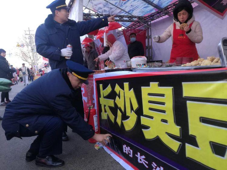 青岛市北区市场监管局规范糖球会虚假宣传风涉国足臭豆腐等