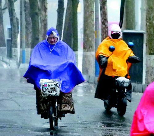 大风裹来及时雨 济南终结144天无有效降水情况