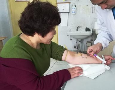 东营完成一例高分辨率血样采集 样本已寄往江苏