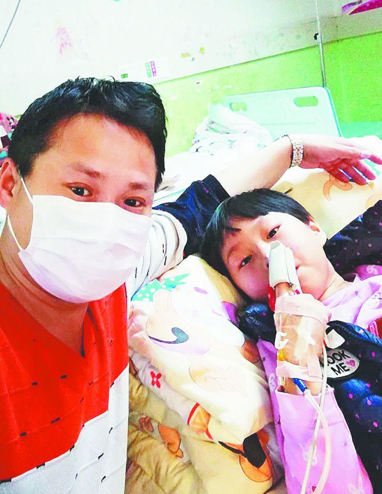 高青8岁女孩患白血病  家人坚强面对
