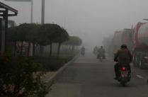 寒意浓 淄博近日气温低今日最低-5℃