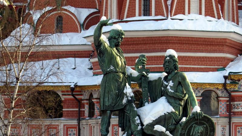 莫斯科红场雕塑