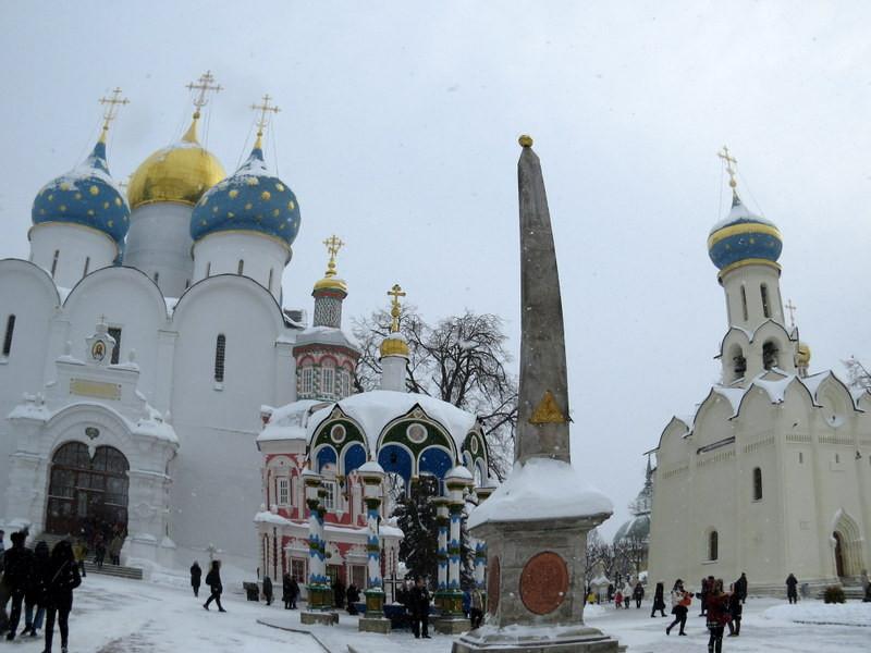 莫斯科谢尔盖三一修道院(鱼眼效果)