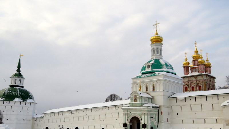 莫斯科谢尔盖三一修道院外景1