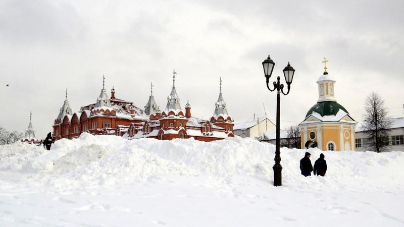 莫斯科谢尔盖三一修道院外景2