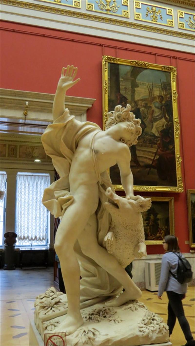 世界四大博物馆之一的国立埃尔米塔什博物馆