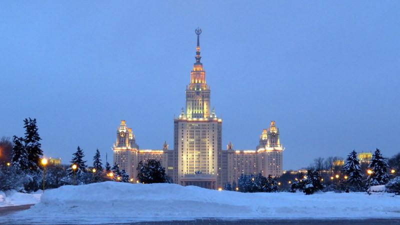 由二战德国战俘修建的莫斯科大学