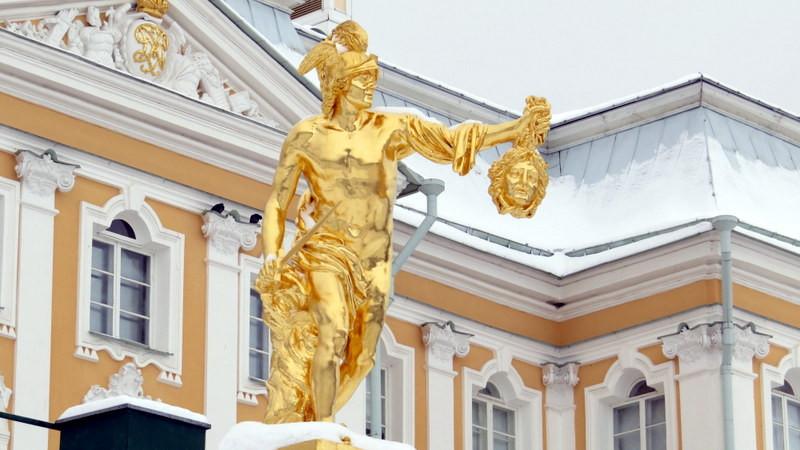 夏宫喷泉雕塑1
