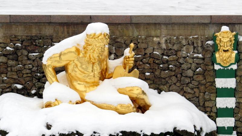 夏宫喷泉雕塑3