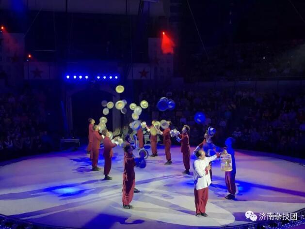 又双叒叕获金奖,济南市杂技团捧回俄罗斯国际马戏节金熊奖
